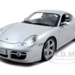 Porsche Cayman S Silver 1/18  Diecast Model Car by Maisto