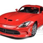2013 Dodge Viper GTS SRT Red 1/18 Diecast  Model Car by Maisto
