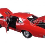 1970 Chevrolet Nova SS Coupe Red 1/18 Diecast Model Car by Maisto