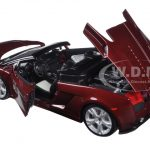 Lamborghini Gallardo Spyder Burgundy 1/18 Diecast Model Car by Maisto