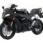 Honda CBR 1000RR Black Motorcycle 1/12 Model by Maisto