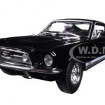 1967 Ford Mustang GTA Fastback Black 1/18 Diecast Model Car by Maisto