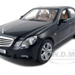 2009 2010 Mercedes E Class E350 Black 1/18 Diecast Model Car by Maisto