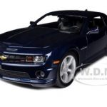 2010 Chevrolet Camaro RS SS Blue 1/18 Diecast Model Car by Maisto