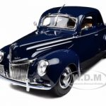 1939 Ford Deluxe Tudor Blue 1/18 Diecast Model Car by Maisto