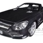 2012 Mercedes SL 500 Convertible Black 1/18 Diecast Model Car by Maisto