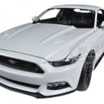 2015 Ford Mustang GT 5.0 White 1/18 Diecast Car Model by Maisto