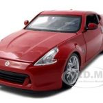 2009 Nissan 370Z Red 1/24 Diecast Model Car by Maisto