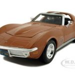 1970 Chevrolet Corvette Bronze 1/24 Diecast Model Car by Maisto