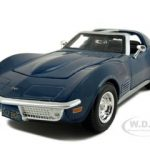 1970 Chevrolet Corvette Blue 1/24 Diecast Model Car by Maisto