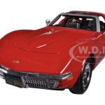 1970 Chevrolet Corvette Red 1/24 Diecast Car Model by Maisto