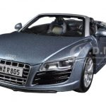 Audi R8 Spyder Blue 1/24 Diecast Car Model by Maisto
