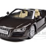 2011 Audi  R8 Spyder Brown 1/24 Diecast  Model Car by Maisto