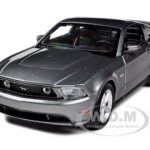 2011 Ford Mustang GT Grey 1/24 Diecast Model Car by Maisto