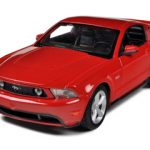 2011 Ford Mustang GT Red 1/24 Diecast Model Car by Maisto