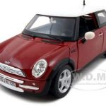 Mini Cooper Red 1/24 Diecast Model Car by Maisto