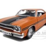1970 Plymouth GTX Orange 1/25 Diecast Model Car by Maisto