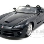 2003 Dodge Viper SRT/10 Black 1/24 Diecast Model Car by Maisto
