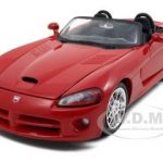 2003 Dodge Viper SRT-10 Red 1/24 Diecast Model Car by Maisto