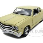 1965 Chevrolet Malibu SS Yellow 1/24 Diecast Model Car by Maisto