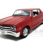 1965 Chevrolet Malibu SS Red 1/24 Diecast Model Car by Maisto
