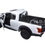 2017 Ford Raptor Pickup Truck White 1/24 Diecast Model Car by Maisto