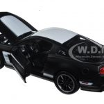 2011 Ford Mustang Boss 302 Matt Black 1/24 Diecast Model Car by Maisto