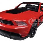 2011 Ford Mustang Boss 302 Red 1/24 Diecast Car Model by Maisto