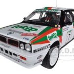 Lancia Delta Integrale #7 Rally San Remo 1988 D.Cerrato/G.Cerri Limited to 799pc 1/18 Diecast Model Car by Sunstar