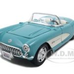 1957 Chevrolet Corvette Turquoise 1/24 Diecast Model Car by Maisto