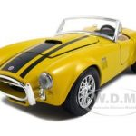 1965 Shelby Cobra 427 Yellow 1/24  Diecast Model Car by Maisto