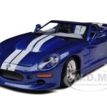 1999 Shelby Series 1 Blue 1/24 Diecast  Model Car by Maisto