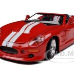 1999 Shelby Series 1 Red 1/24 Diecast Model Car by Maisto