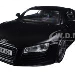 Audi R8 Matt Black 1/24 Diecast Model Car by Maisto