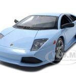 Lamborghini Murcielago LP640 Baby Blue 1/24 Diecast Model Car by Maisto