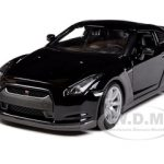 2009 Nissan GT-R R35 Black 1/24 Diecast Model Car by Maisto