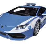 Lamborghini Huracan LP610-4 Police 1/18 Diecast Car Model by Bburago