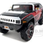 2008 Hummer HX Concept  Black/Red All Stars 1/24 Diecast Model Car by Maisto
