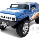 2008 Hummer HX Concept  Blue/Orange/White All Stars1/24 Diecast Model Car by Maisto