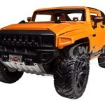 2008 Hummer HX Concept Orange 1/24 Diecast Model Car by Maisto