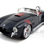 1965 Shelby Cobra 427 S/C Black 1/24 Diecast Car Model by Maisto