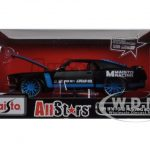 1970 Ford Mustang Boss 302  All Stars Black 1/24 Diecast Model Car by Maisto