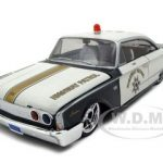 1960 Ford Starliner Highway Patrol All Stars 1/26 Diecast Model Car by Maisto