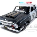 1963 Dodge 330 Highway Patrol Police Car Pro Rodz  1/18 Diecast Model Car by Maisto
