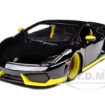 Lamborghini Gallardo LP 560-5 Black/Yellow 1/24 Diecast  Model Car by Maisto
