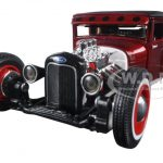 1929 Ford Model A Candy Red Outlaws 1/24 Diecast Model Car by Maisto