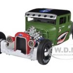 1929 Ford Model A Flat Green All Stars 1/24 Diecast Model Car by Maisto