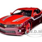 2010 Chevrolet Camaro RS SS Burgundy 1/24 Diecast Model Car Maisto