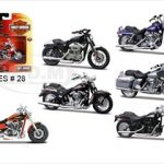 Harley Davidson Motorcycle 6pc Set Series 28 1/18 by Maisto