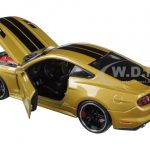 2015 Ford Mustang GT Gold Classic Muscle 1/24 Diecast Model Car by Maisto
